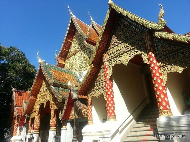 On the Temple trail in Chiang Mai