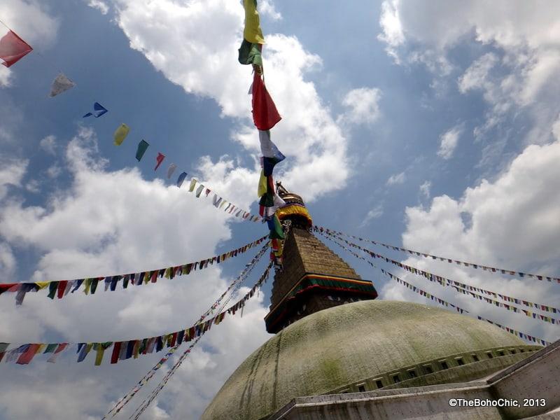 'Being' in Boudhanath Nepal