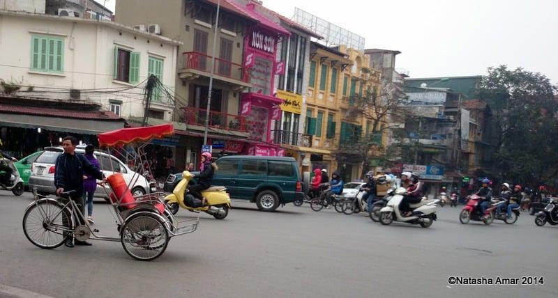 Street corner, Old Quarter, Hanoi