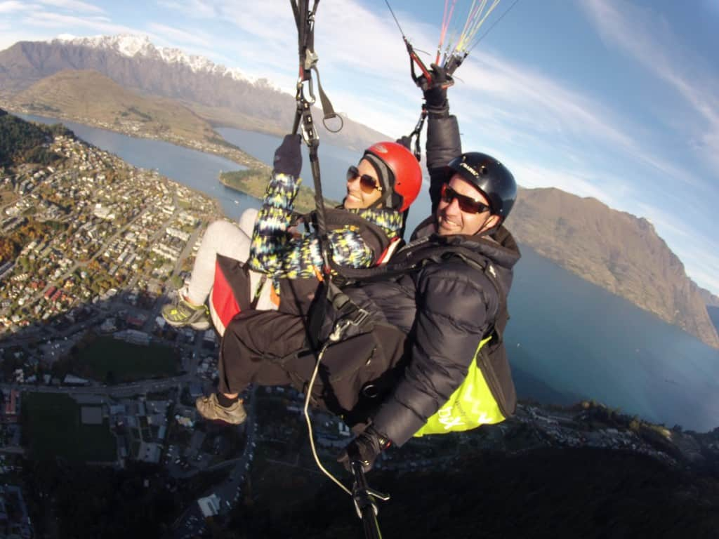 Paragliding Queenstown New Zealand