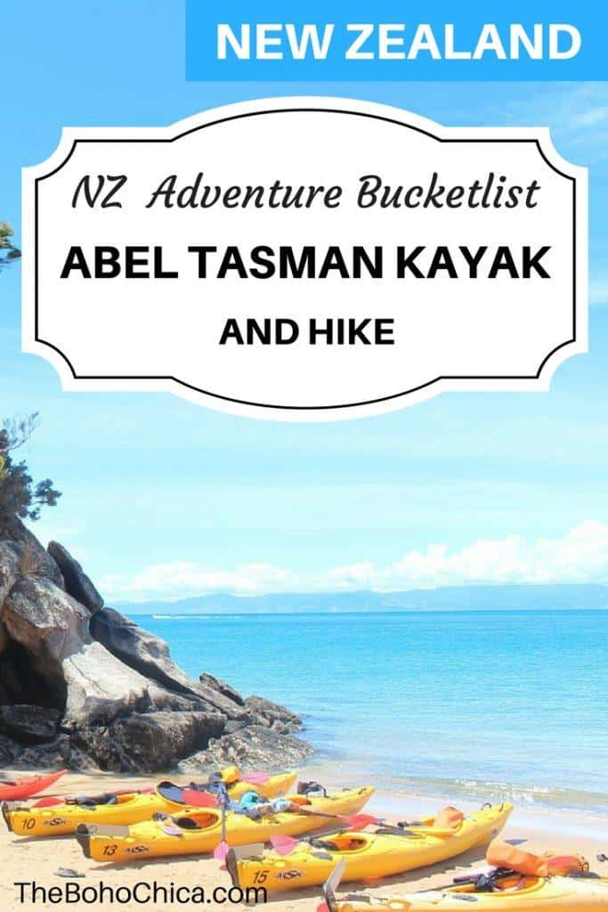 Here's what it's like to do the Abel Tasman Kayak and Walk in the Abel Tasman National Park. Walk the gorgeous coastal track and kayak to seal colonies.