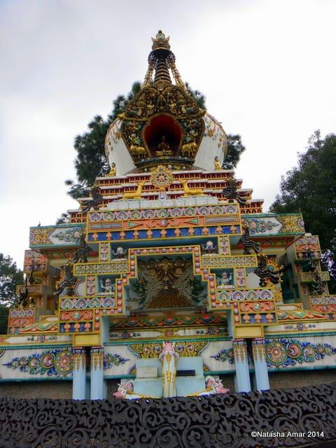 A Rainy Hike to Kopan Monastery