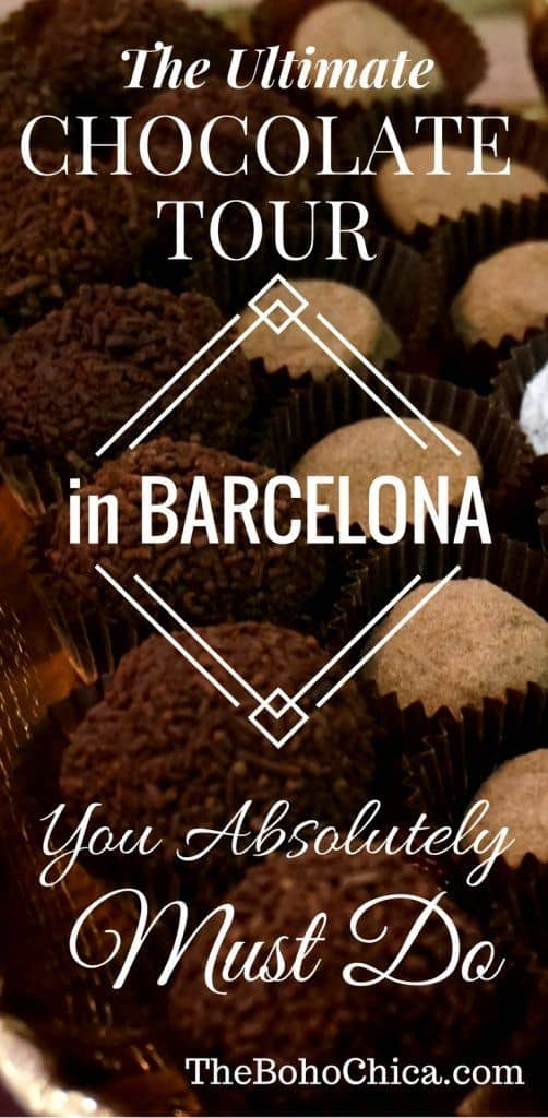 Visiting Barcelona? Experience the ultimate walking food tour in Barcelona with this Chocolate Tour of Barcelona's best, finest, and oldest chocolate. You'll discover the chocolate heritage, go to a local cafe, and many tiny boutique chocolatiers. Tastings included in the Barcelona City of Chocolate Tour!