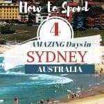 How to spend 4 days in Sydney