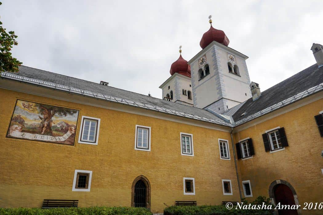 Millstatt Abbey: Transromanica Cultural Route of the Council of Europe