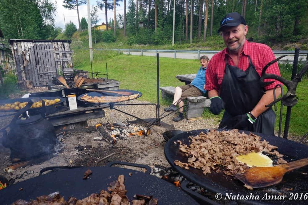 Skelleftea in Swedish Lapland: Eat in the great outdoors