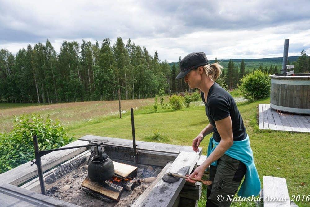 Skellefteå in Swedish Lapland: Go trekking with huskies in Lapland