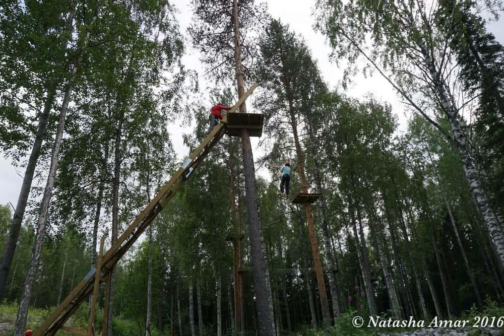 Skelleftea in Swedish Lapland: Skelleftea Adventure Park