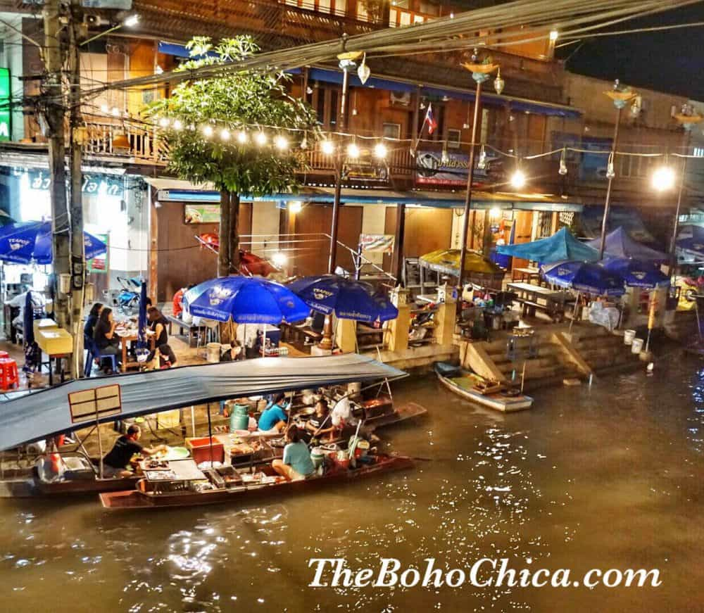 Ecotourism in Amphawa and Samut Songkhram Thailand