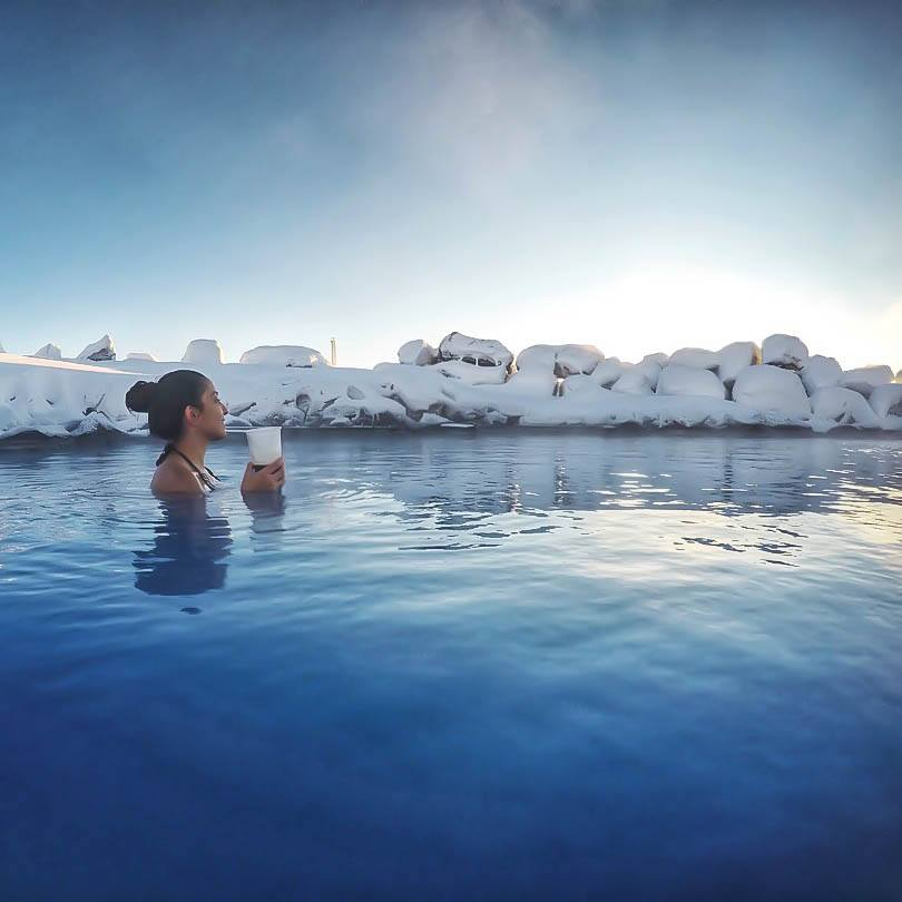 Visiting Iceland in Winter: Don't miss the thermal baths