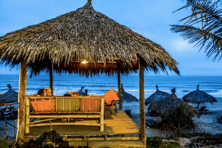 Beach in Hoi An Vietnam