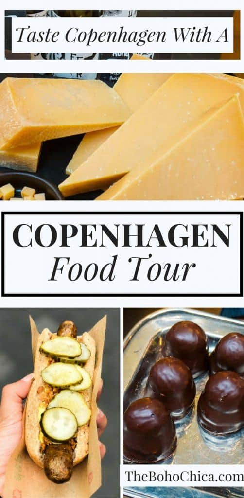 A Walking Copenhagen Food Tour: Try local favorites like Smørrebrød, flødeboller, Copenhagen's most famous hotdog and home-brewed beers in Copenhagen.