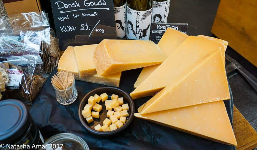 Copenhagen Food Tour: Cheeses at Torvehallerne