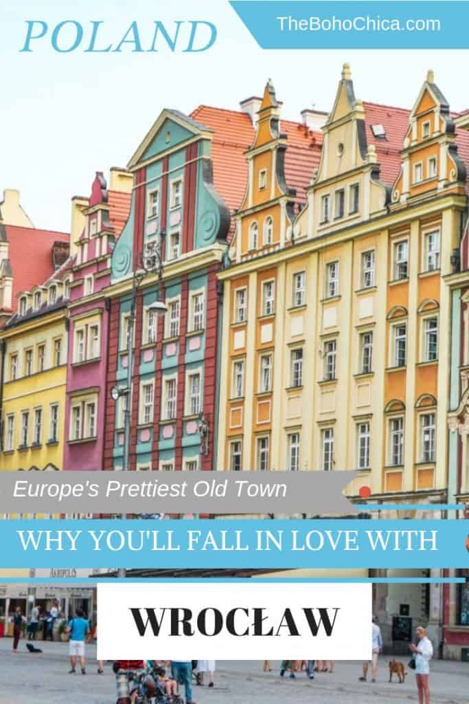 Top Things to do in Wroclaw: this lovely city in Poland is thought to have one of Europe's prettiest old towns. Explore its stunning architecture, rich culture, cool craft breweries, quirky cafes and interesting markets without the crowds of other cities in Europe.