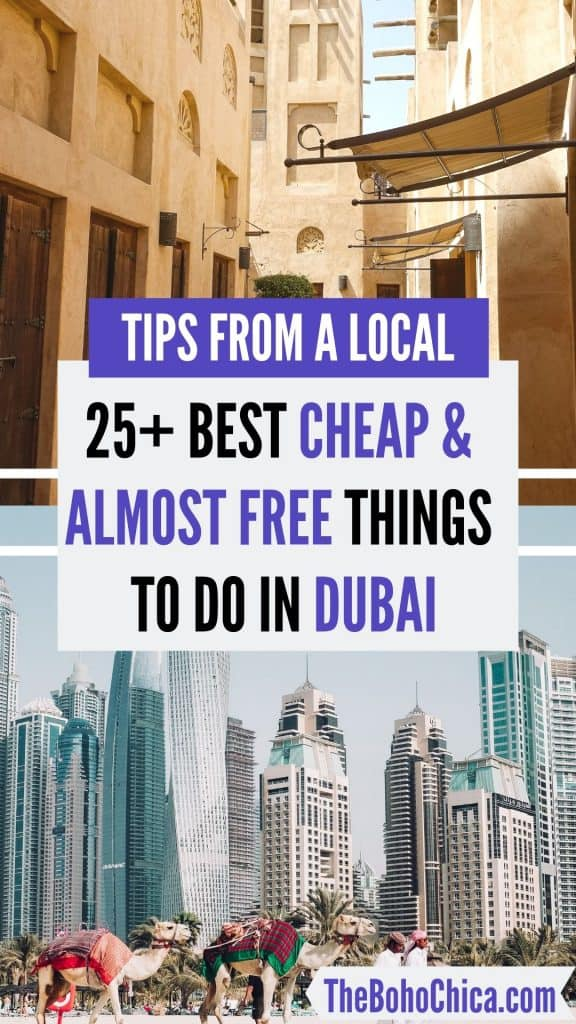 Best Places to Visit in Dubai for Free & Cheap and Free Things to do in Dubai: From watching flamingoes and Dubai's liveliest beach to the world's tallest dancing fountains, I've got you covered if you're visiting Dubai on a budget. Dubai on a Budget| Budget Travel in Dubai| Dubai on the cheap| #budgettravel #Dubaitravel #dubai #freethingstodoinDubai #Dubaionabudget #Dubaitraveltips #BudgetTravel