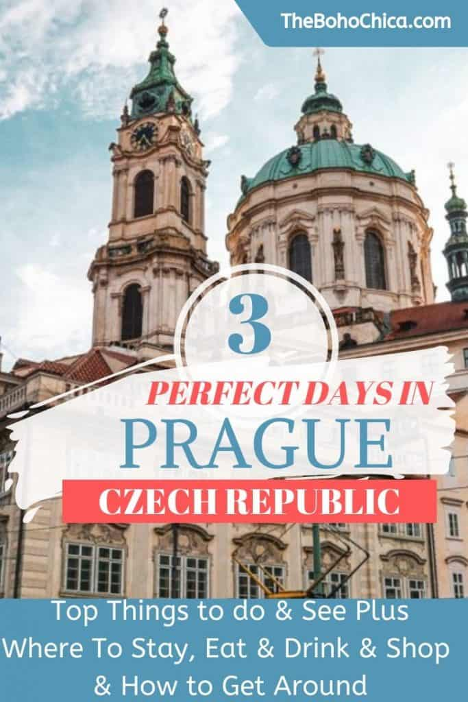 Top things to do and see in Prague plus a 3-day itinerary for Prague and info on where to stay, where to eat and drink, where to shop and how to get around Prague and best day trips from Prague. This is your ultimate Prague travel guide. #Prague #Praguetravel #itinerary
