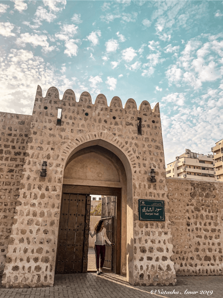 48 Hours in Sharjah: Sharjah Wall