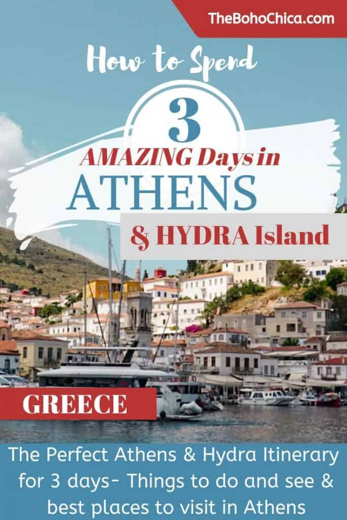 The Perfect Athens Itinerary for Things to do over 3 days in Athens