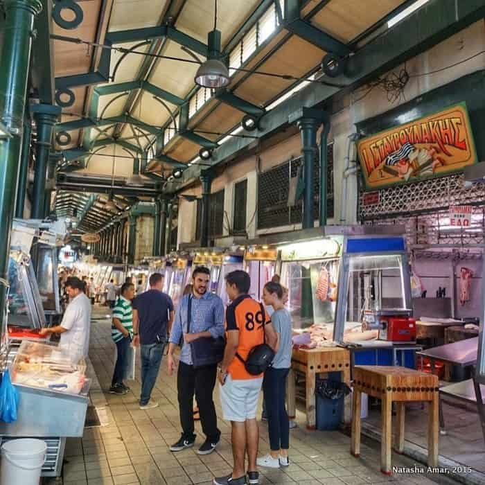 Athens Central Market : The Perfect Athens Itinerary for Things to do over 3 days in Athens