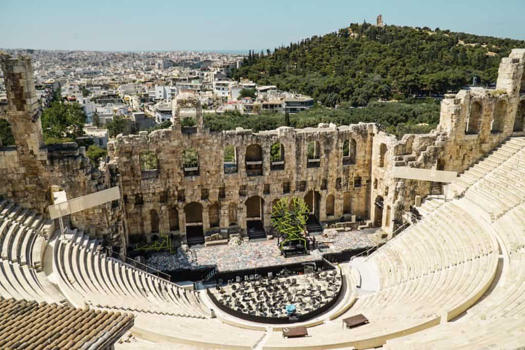 Odeon of Herodes Atticus: : The Perfect Athens Itinerary for Things to do over 3 days in Athens