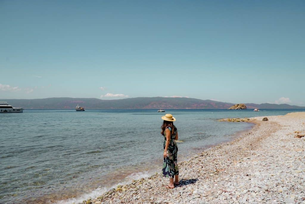 Plakes Beach, Hydra island : The Perfect Athens Itinerary for Things to do over 3 days in Athens