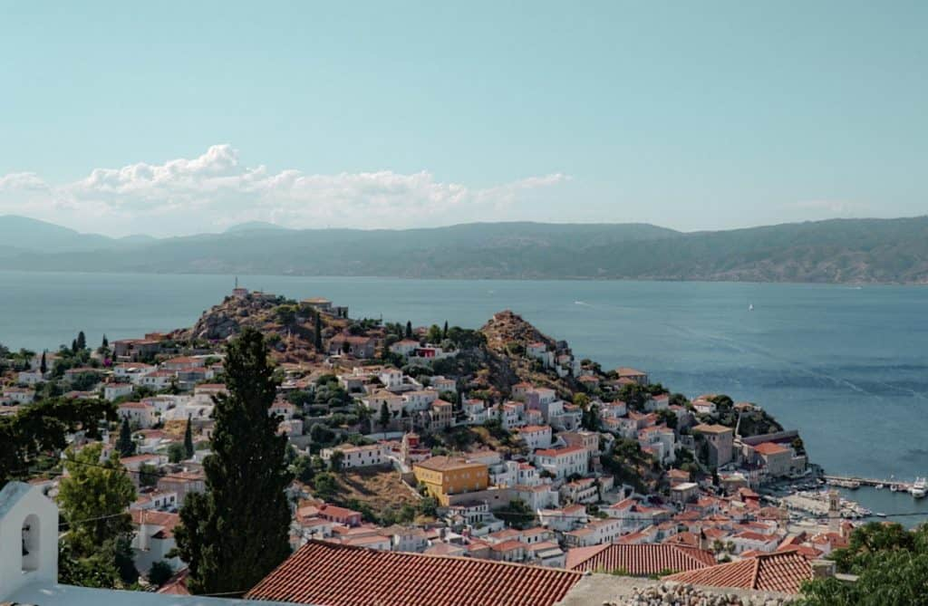 Views over Hydra: The Perfect Athens Itinerary for Things to do over 3 days in Athens
