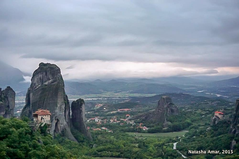 Meteora sunset : The Perfect Athens Itinerary for Things to do over 3 days in Athens