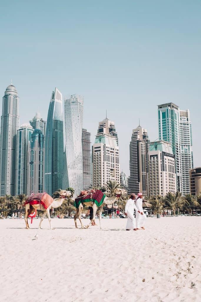 Where to Stay in Dubai: Whether it's hotel apartments, budget hotels or luxury hotels in Dubai near the beach, Burj Khalifa, Dubai Marina, or Palm Jumeirah, use this guide to Dubai accommodation to know where to stay in Dubai. Full breakdown of neighborhoods plus hotel recommendations. Maps included. #dubaitravel #Dubai #Dubaihotels #DubaiAccommodation #WhereToStayinDubai