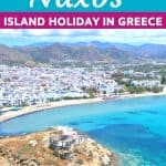 Enjoy a slice of island paradise on the best Naxos beaches in the popular Cyclades islands in Greece. From sandy beaches with crystal waters and secret coves for privacy, these are the best beaches in Naxos. #Naxos #beaches #Greece #Greekislands