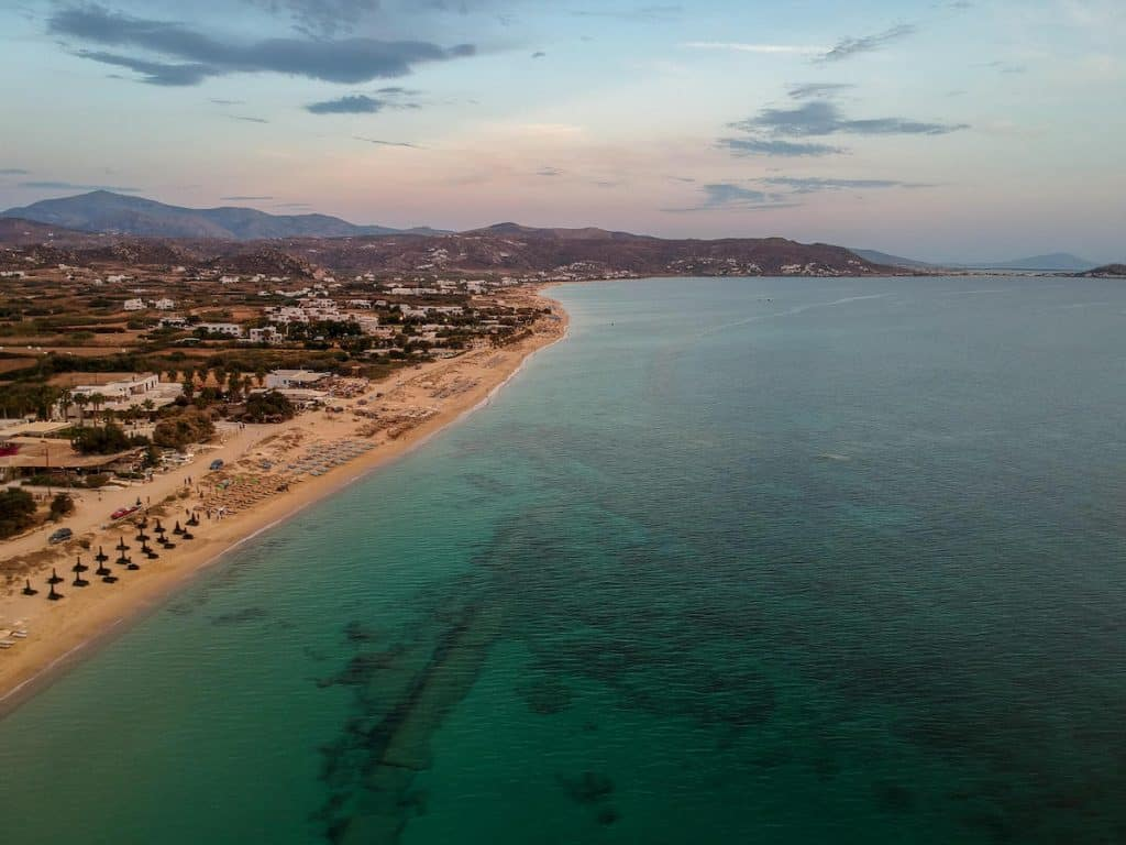 Plaka Beach : Enjoy a slice of island paradise on the best Naxos beaches in the popular Cyclades islands in Greece. From sandy beaches with crystal waters and secret coves for privacy, these are the best beaches in Naxos.