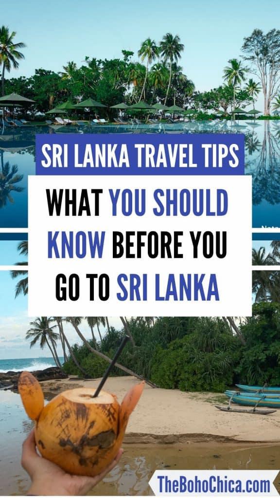 Sri Lanka Travel Tips: Things to know before you go to Sri Lanka