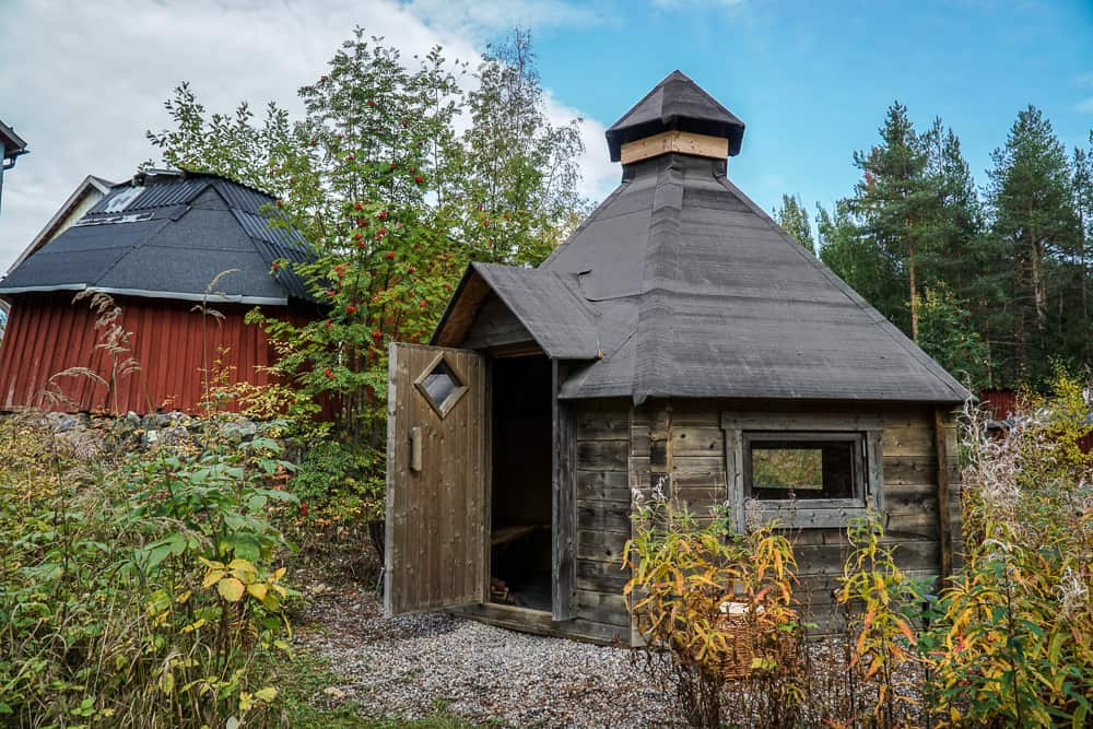 A Taste of the Arctic in Swedish Lapland: A Sami smoke hut
