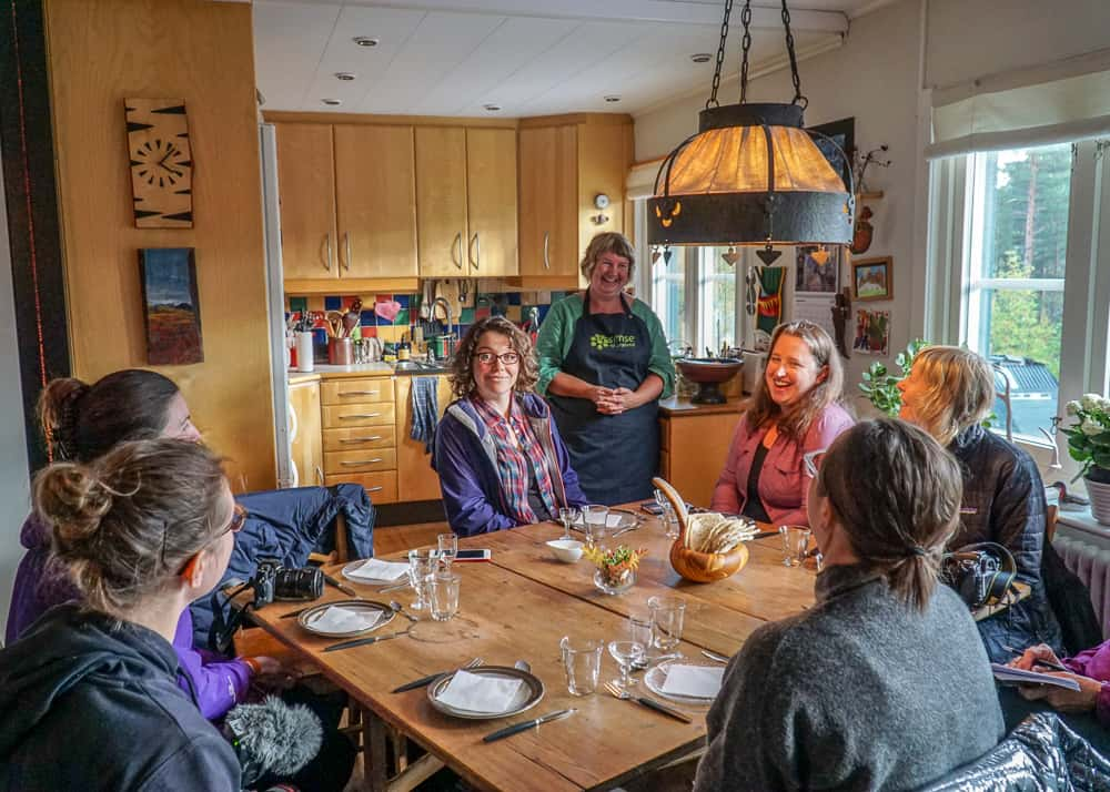 A Taste of the Arctic in Swedish Lapland: In Eva's home