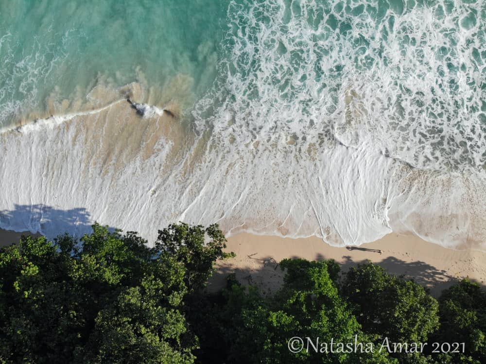 Aerial view of Grand Anse