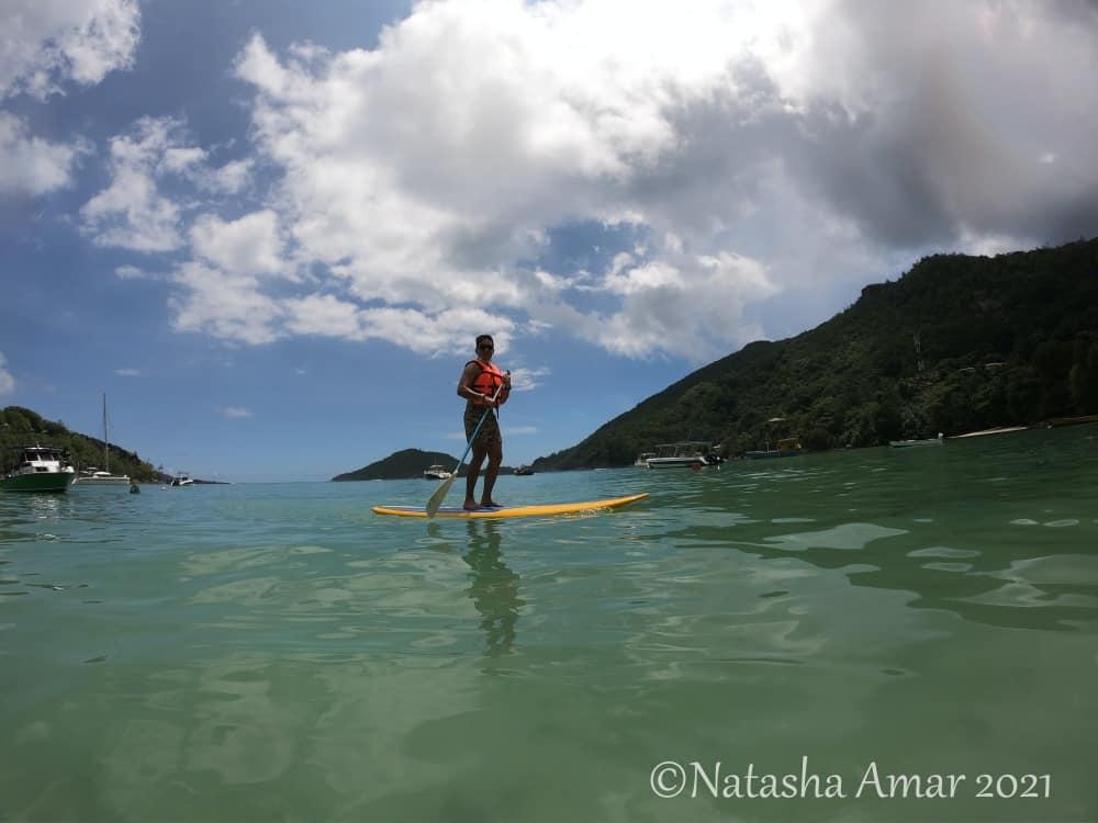 Paddleboarding Seychelles